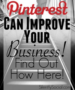 Pinterest helps small business! Are you looking to grow? Reach out via this social media outlet!