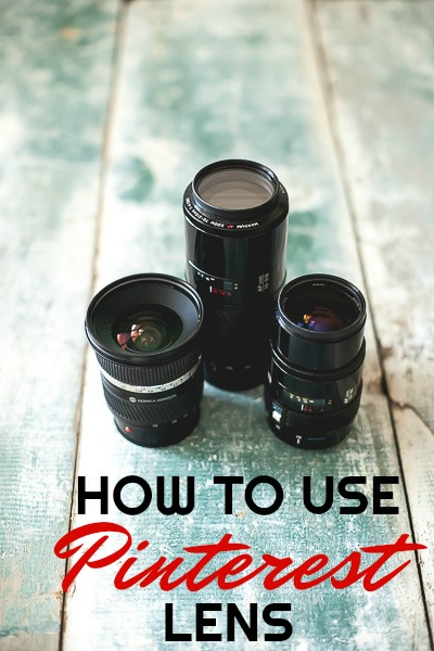 How to Use Pinterest Lens